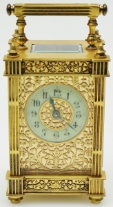 brass clock restoration