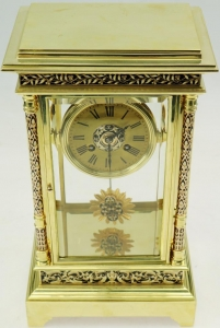 watch dial restoration carriage clock